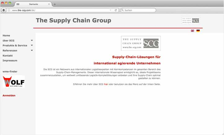 Projekt The Supply Chain Group